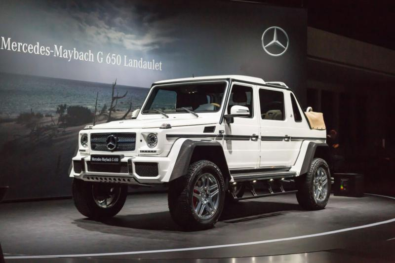 Электромобиль BARTY Mercedes-Maybach G650 Landaulet,